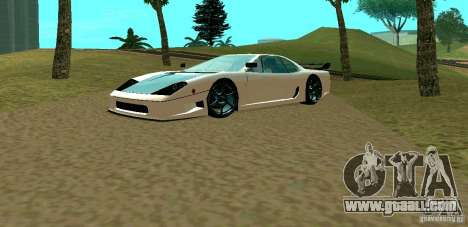 New Turismo for GTA San Andreas left view
