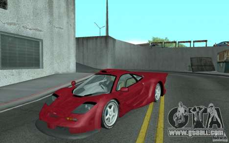 Mclaren F1 GT (v1.0.0) for GTA San Andreas
