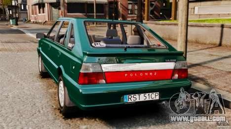 Daewoo-FSO Polonez Caro Plus 1.6 GSI 1998 Final for GTA 4 left view