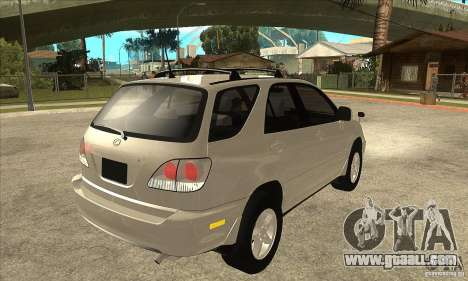 Lexus RX300 for GTA San Andreas right view