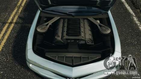 Chevrolet Camaro ZL1 2012 v1.2 for GTA 4 upper view