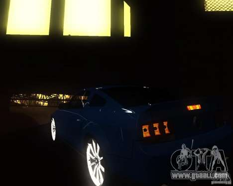 Shelby Mustang 2009 for GTA San Andreas right view