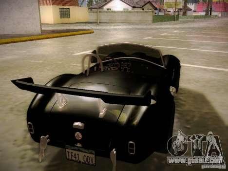 Shelby Cobra 427 for GTA San Andreas interior