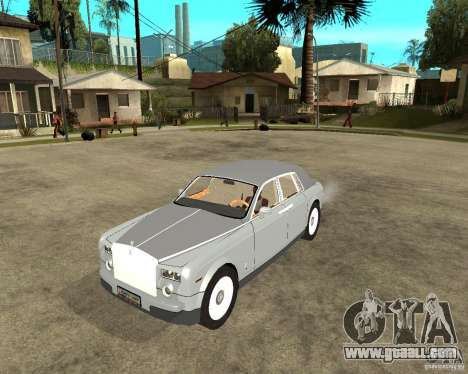 Rolls-Royce Phantom (2003) for GTA San Andreas