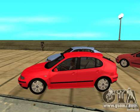 Seat Leon 1.9 TDI for GTA San Andreas left view