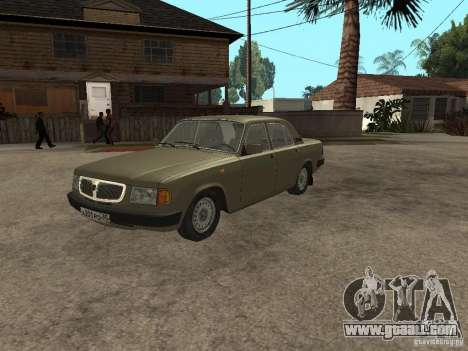 GAZ 3110 v 1 for GTA San Andreas