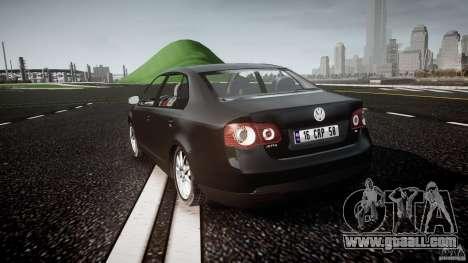 Volkswagen Jetta 2008 for GTA 4 back left view