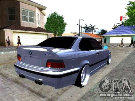 BMW M3 E36 Light Tuning for GTA San Andreas back left view