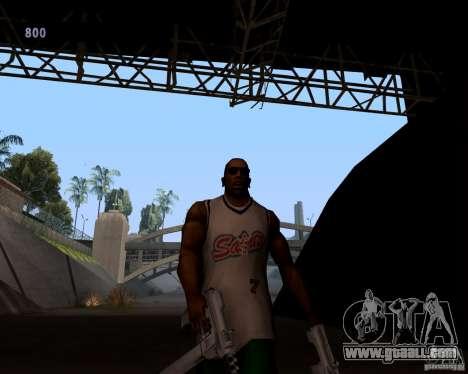 Gangster gait for GTA San Andreas