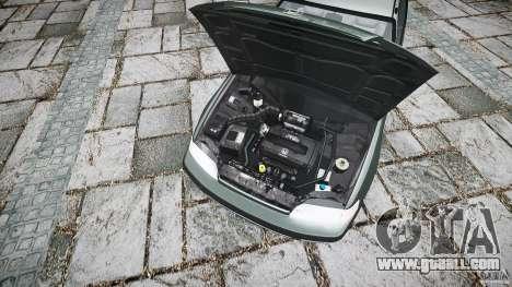 Honda CRX 1991 for GTA 4 back view