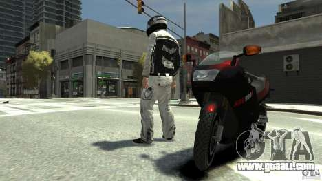 BIKER BOYZ Clothes and HELMET Version 1.1 for GTA 4 third screenshot