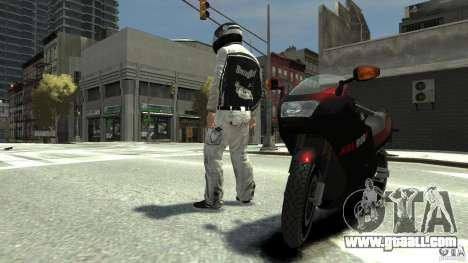 BIKER BOYZ Clothes and HELMET Version 1.1 for GTA 4 third screenshot