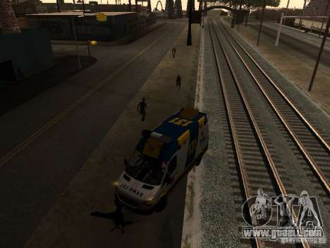 Mercedes-Benz Sprinter Ambulancia for GTA San Andreas left view