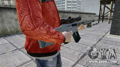 RSASS of MW3 (sniper) for GTA 4 third screenshot