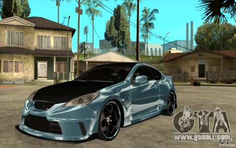 Hyundai Genesis Tuning for GTA San Andreas