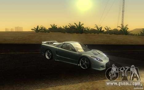 Honda NSX VeilSide Fortune for GTA San Andreas upper view