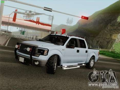 Ford F-150 for GTA San Andreas left view