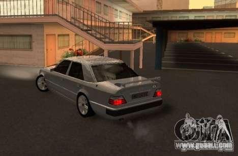 Mercedes-Benz E500 Taxi 1 for GTA San Andreas