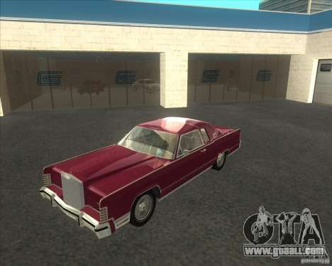 Lincoln Continental Town Coupe 1979 for GTA San Andreas