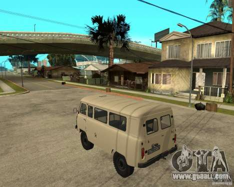 UAZ 2206 for GTA San Andreas left view