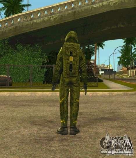Skins Of S.T.A.L.K.E.R. for GTA San Andreas third screenshot