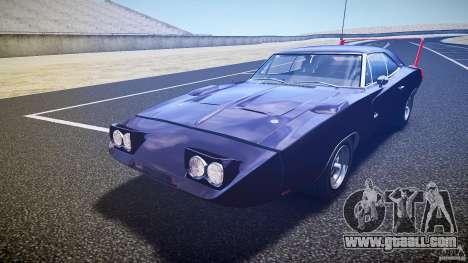 Dodge Charger Daytona 1969 [EPM] for GTA 4 interior