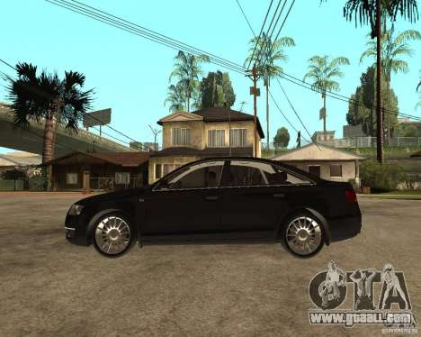Audi A6 3.0 TDI Quattro for GTA San Andreas left view