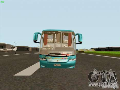 Mercedes-Benz Vissta Buss LO for GTA San Andreas back left view