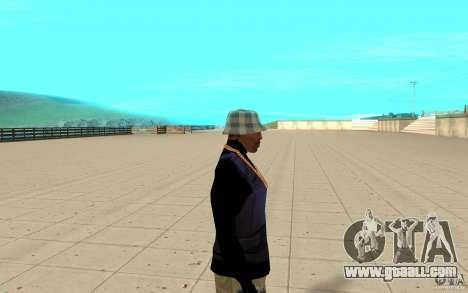 Bronik skin 5 for GTA San Andreas second screenshot