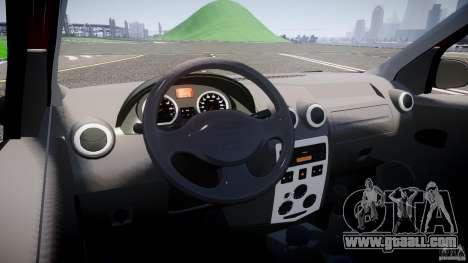 Dacia Logan Pick-up ELIA tuned for GTA 4 back view