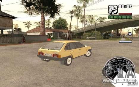 VAZ 21093i for GTA San Andreas right view