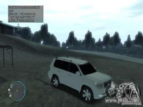 Toyota Land Cruiser 200 FINAL for GTA 4