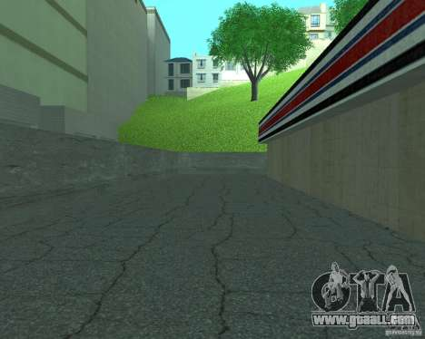 New Xoomer. new gas station. for GTA San Andreas forth screenshot