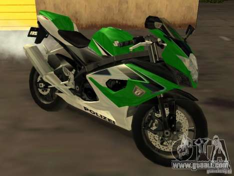 Suzuki 1000 Police for GTA San Andreas