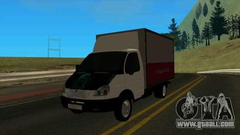 3302 Gazelle v2 for GTA San Andreas