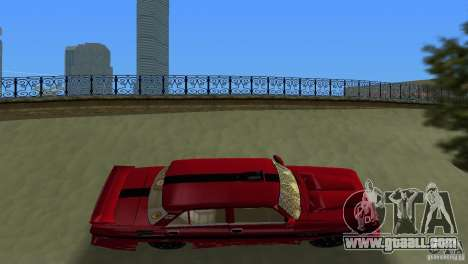 AZLK 2140 for GTA Vice City side view