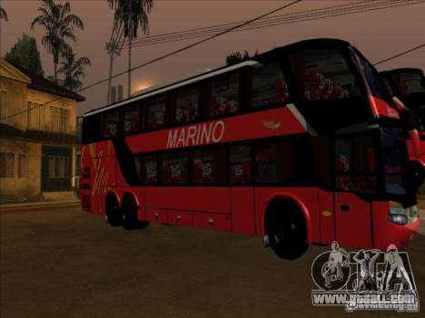 Setra S 417 HDI for GTA San Andreas back left view