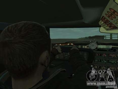 DeLorean BTTF 2 for GTA 4 back view