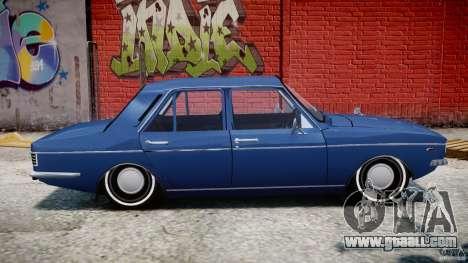 Peykan 1348 1970 for GTA 4 back left view