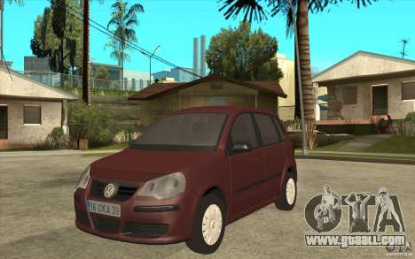 Volkswagen Polo 2006 for GTA San Andreas