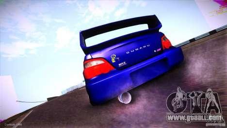 Subaru Impreza WRX STI 2011 for GTA San Andreas back left view