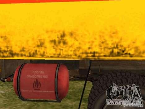 GAZ 53 for GTA San Andreas back view