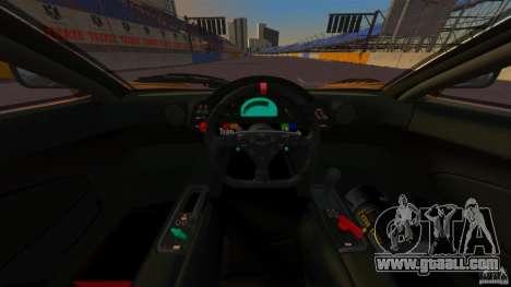 McLaren F1 for GTA 4 back view