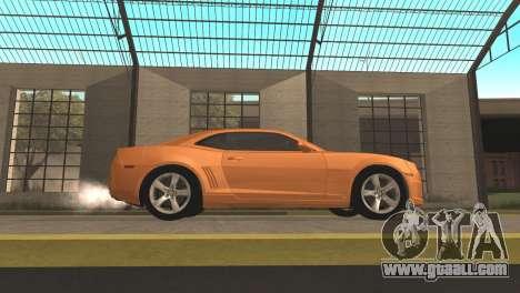 Chevrolet Camaro SS 2010 v2.0 Final for GTA San Andreas left view