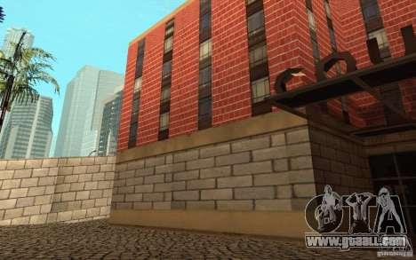 New textures for hospital in Los Santos for GTA San Andreas ninth screenshot