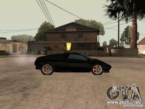 GTA4 Infernus for GTA San Andreas left view