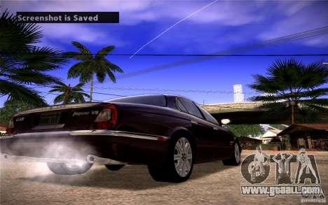 Jaguar Xj8 for GTA San Andreas back left view
