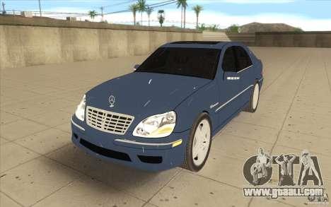 Mercedes-Benz S-Klasse for GTA San Andreas