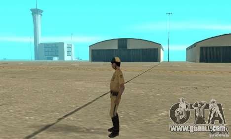 New uniform cops on bike for GTA San Andreas second screenshot