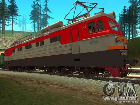 Vl60k 2364 RZD for GTA San Andreas left view